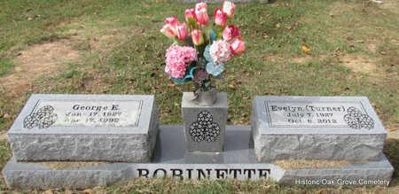ROBINETTE, GEORGE EDWARD - Faulkner County, Arkansas | GEORGE EDWARD ROBINETTE - Arkansas Gravestone Photos