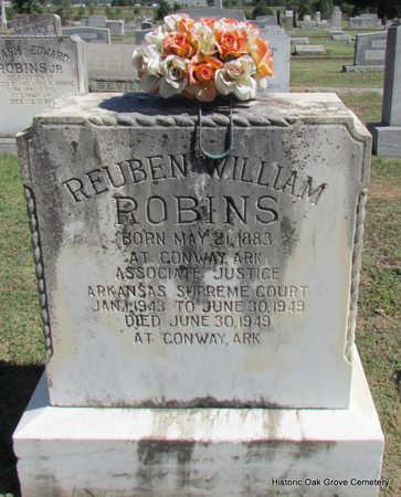 ROBINS, REUBEN WILLIAM (PUBLIC SERVANT) - Faulkner County, Arkansas | REUBEN WILLIAM (PUBLIC SERVANT) ROBINS - Arkansas Gravestone Photos
