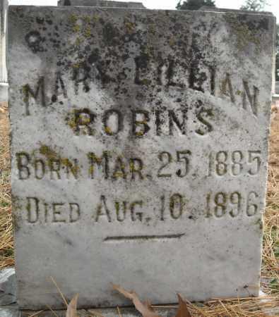 ROBINS, MARY LILLIAN - Faulkner County, Arkansas   MARY LILLIAN ROBINS - Arkansas Gravestone Photos