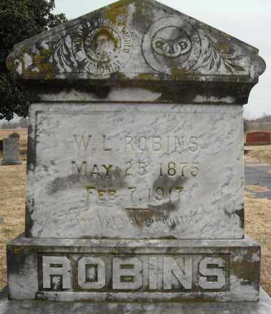 ROBINS, W.L. - Faulkner County, Arkansas | W.L. ROBINS - Arkansas Gravestone Photos