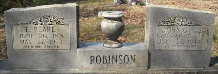 ROBINSON, JOHN G. - Faulkner County, Arkansas   JOHN G. ROBINSON - Arkansas Gravestone Photos