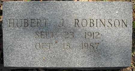 ROBINSON, HUBERT J. - Faulkner County, Arkansas   HUBERT J. ROBINSON - Arkansas Gravestone Photos
