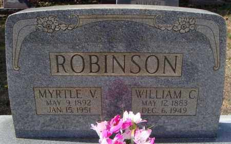 ROBINSON, WILLIAM CHARLIE - Faulkner County, Arkansas | WILLIAM CHARLIE ROBINSON - Arkansas Gravestone Photos