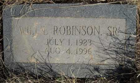 ROBINSON, SR., WILL L. - Faulkner County, Arkansas   WILL L. ROBINSON, SR. - Arkansas Gravestone Photos