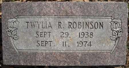 ROBINSON, TWYLIA R. - Faulkner County, Arkansas | TWYLIA R. ROBINSON - Arkansas Gravestone Photos