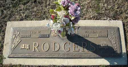 RODGERS, TED W. - Faulkner County, Arkansas   TED W. RODGERS - Arkansas Gravestone Photos