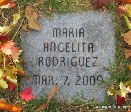 RODRIGUEZ (INFANT SECT #2), MARIA ANGELITA - Faulkner County, Arkansas   MARIA ANGELITA RODRIGUEZ (INFANT SECT #2) - Arkansas Gravestone Photos