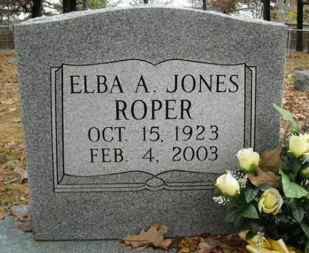 JONES ROPER, ELBA A. - Faulkner County, Arkansas | ELBA A. JONES ROPER - Arkansas Gravestone Photos