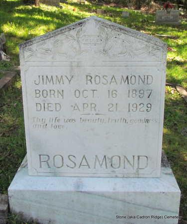 ROSAMOND, JIMMY - Faulkner County, Arkansas | JIMMY ROSAMOND - Arkansas Gravestone Photos