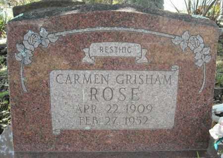 ROSE, CARMEN - Faulkner County, Arkansas | CARMEN ROSE - Arkansas Gravestone Photos