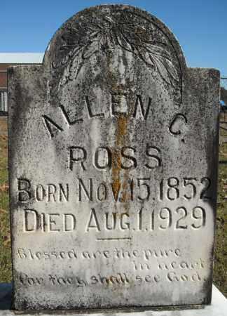 ROSS, ALLEN C. - Faulkner County, Arkansas | ALLEN C. ROSS - Arkansas Gravestone Photos