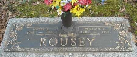 ROUSEY, HAZEL E. - Faulkner County, Arkansas | HAZEL E. ROUSEY - Arkansas Gravestone Photos