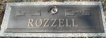 ROZZELL, FORREST - Faulkner County, Arkansas | FORREST ROZZELL - Arkansas Gravestone Photos