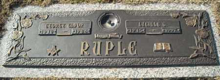 RUPLE, LUCILLE G. - Faulkner County, Arkansas | LUCILLE G. RUPLE - Arkansas Gravestone Photos