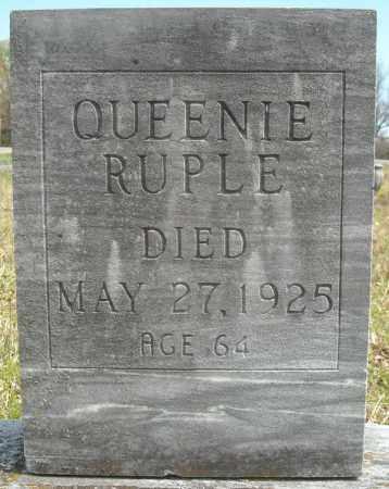 RUPLE, QUEENIE ISABELLA - Faulkner County, Arkansas   QUEENIE ISABELLA RUPLE - Arkansas Gravestone Photos