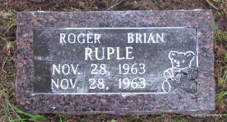 RUPLE, ROGER BRIAN - Faulkner County, Arkansas   ROGER BRIAN RUPLE - Arkansas Gravestone Photos