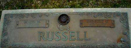 RUSSELL, MAUD M. - Faulkner County, Arkansas   MAUD M. RUSSELL - Arkansas Gravestone Photos