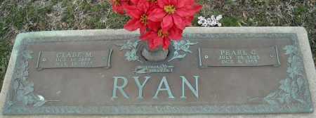RYAN, CLABE M. - Faulkner County, Arkansas   CLABE M. RYAN - Arkansas Gravestone Photos