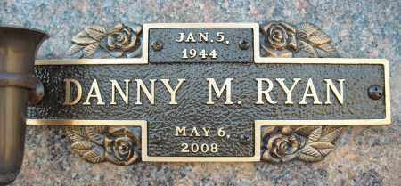 RYAN, DANNY M. - Faulkner County, Arkansas | DANNY M. RYAN - Arkansas Gravestone Photos