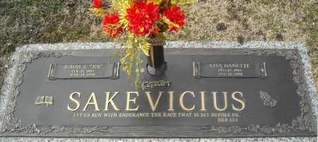 SAKEVICIUS, LISA DANETTE - Faulkner County, Arkansas | LISA DANETTE SAKEVICIUS - Arkansas Gravestone Photos