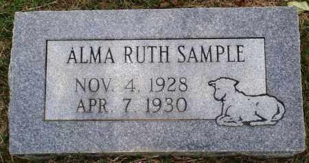 SAMPLE, ALMA RUTH - Faulkner County, Arkansas | ALMA RUTH SAMPLE - Arkansas Gravestone Photos