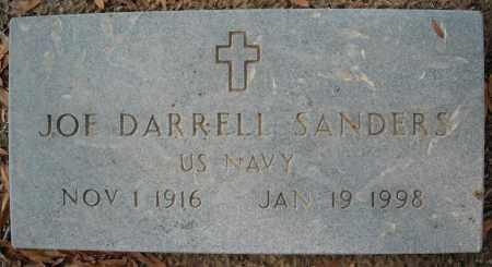 SANDERS  (VETERAN), JOE DARRELL - Faulkner County, Arkansas | JOE DARRELL SANDERS  (VETERAN) - Arkansas Gravestone Photos