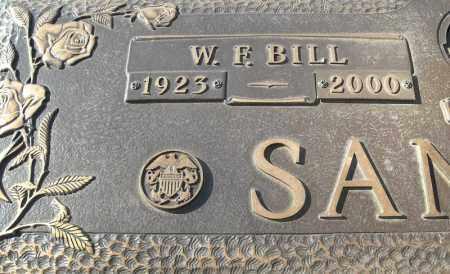 SANDERS (VETERAN), WF BILL - Faulkner County, Arkansas | WF BILL SANDERS (VETERAN) - Arkansas Gravestone Photos