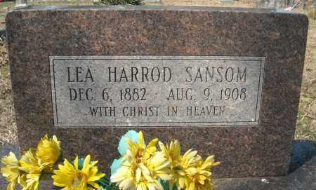 SANSOM, LEA - Faulkner County, Arkansas | LEA SANSOM - Arkansas Gravestone Photos