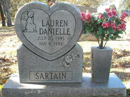 SARTAIN, LAUREN DANIELLE - Faulkner County, Arkansas   LAUREN DANIELLE SARTAIN - Arkansas Gravestone Photos