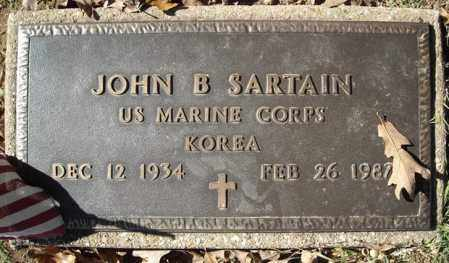 SARTAIN (VETERAN KOR), JOHN B. - Faulkner County, Arkansas | JOHN B. SARTAIN (VETERAN KOR) - Arkansas Gravestone Photos