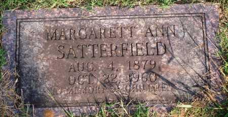 SATTERFIELD, MARGARET ANN - Faulkner County, Arkansas | MARGARET ANN SATTERFIELD - Arkansas Gravestone Photos