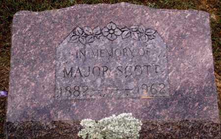 SCOTT, MAJOR - Faulkner County, Arkansas | MAJOR SCOTT - Arkansas Gravestone Photos