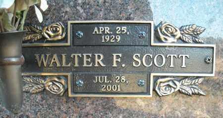 SCOTT, WALTER F. - Faulkner County, Arkansas   WALTER F. SCOTT - Arkansas Gravestone Photos