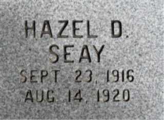 SEAY, HAZEL D. - Faulkner County, Arkansas | HAZEL D. SEAY - Arkansas Gravestone Photos