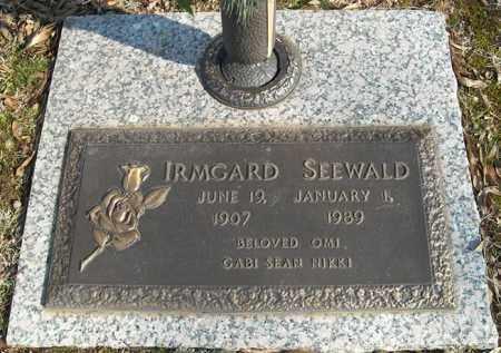 SEEWALD, IRMGARD - Faulkner County, Arkansas | IRMGARD SEEWALD - Arkansas Gravestone Photos
