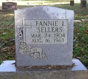 SELLERS, FANNIE I. - Faulkner County, Arkansas   FANNIE I. SELLERS - Arkansas Gravestone Photos