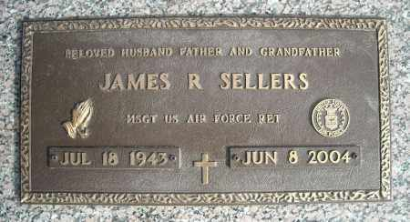 SELLERS (VETERAN), JAMES R - Faulkner County, Arkansas | JAMES R SELLERS (VETERAN) - Arkansas Gravestone Photos