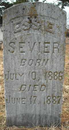 SEVIER, ESSIE - Faulkner County, Arkansas | ESSIE SEVIER - Arkansas Gravestone Photos