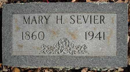 SEVIER, MARY H. - Faulkner County, Arkansas | MARY H. SEVIER - Arkansas Gravestone Photos