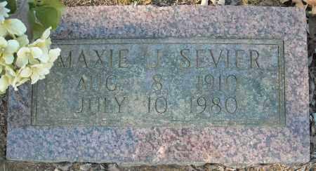 SEVIER, MAXIE J. - Faulkner County, Arkansas | MAXIE J. SEVIER - Arkansas Gravestone Photos