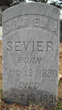 SEVIER, SARAH ELMA - Faulkner County, Arkansas   SARAH ELMA SEVIER - Arkansas Gravestone Photos