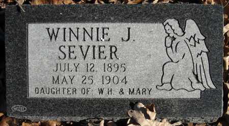 SEVIER, WINNIE J. - Faulkner County, Arkansas | WINNIE J. SEVIER - Arkansas Gravestone Photos