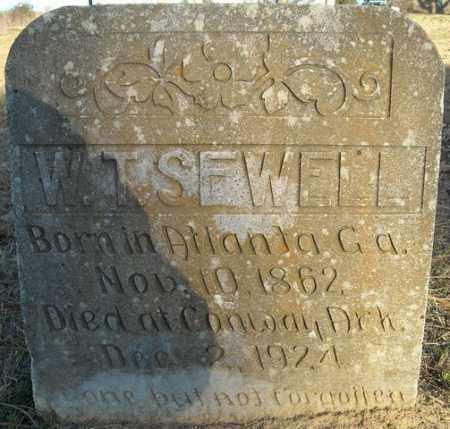 SEWELL, W.T. - Faulkner County, Arkansas | W.T. SEWELL - Arkansas Gravestone Photos