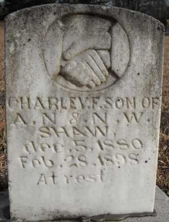 SHAW, CHARLEY F. - Faulkner County, Arkansas   CHARLEY F. SHAW - Arkansas Gravestone Photos