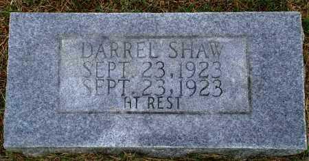 SHAW, DARREL - Faulkner County, Arkansas | DARREL SHAW - Arkansas Gravestone Photos