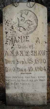 SHAW, MAMIE A. - Faulkner County, Arkansas | MAMIE A. SHAW - Arkansas Gravestone Photos