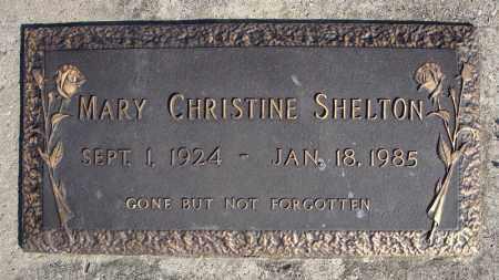 SHELTON, MARY CHRISTINE - Faulkner County, Arkansas | MARY CHRISTINE SHELTON - Arkansas Gravestone Photos