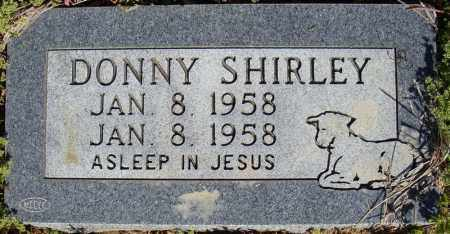SHIRLEY, DONNY - Faulkner County, Arkansas | DONNY SHIRLEY - Arkansas Gravestone Photos