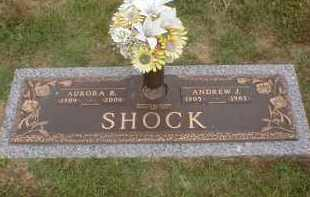 SHOCK, AURORA RUTH - Faulkner County, Arkansas | AURORA RUTH SHOCK - Arkansas Gravestone Photos
