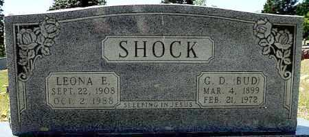 HILL SHOCK, LEONA E. - Faulkner County, Arkansas | LEONA E. HILL SHOCK - Arkansas Gravestone Photos